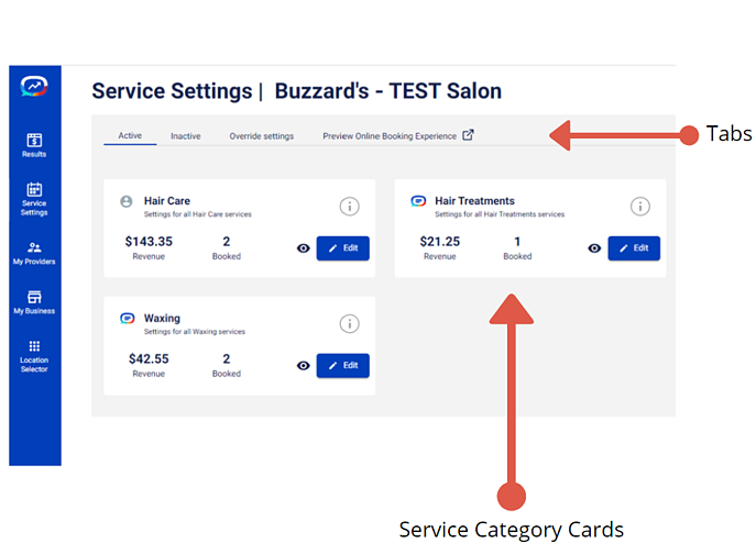service settings1